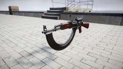 A AK-47 Colimador e destino HICAP
