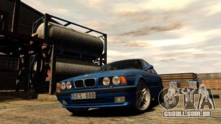 BMW M5 E34 1995 para GTA 4