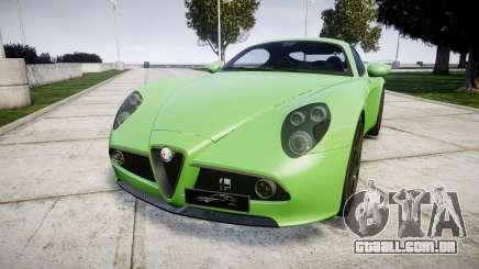 Alfa Romeo 8C Competizione 2008 para GTA 4
