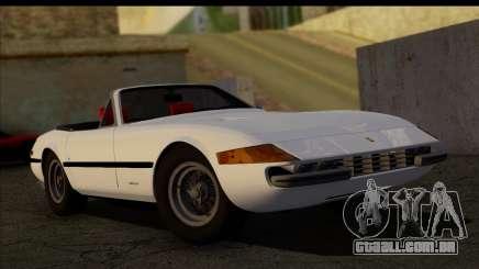 Ferrari 365 GTS4 Daytona (US-spec) 1971 [HQLM] para GTA San Andreas