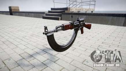 A AK-47 Colimador e destino HICAP para GTA 4