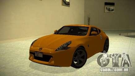 Nissan 370 Z Z34 2010 Ajustável para GTA San Andreas