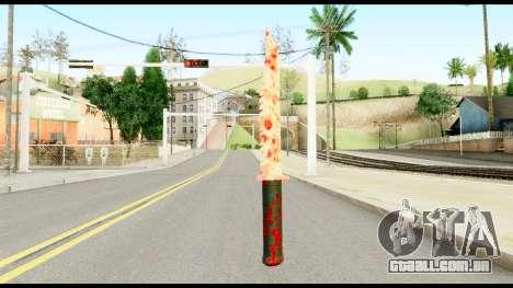 Knife with Blood para GTA San Andreas segunda tela