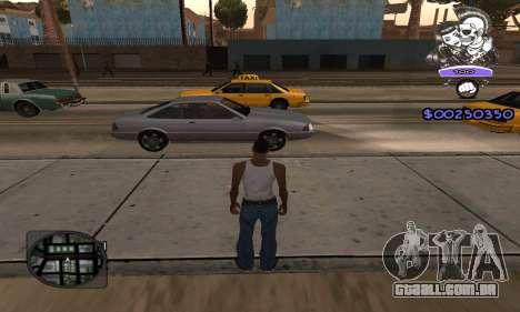 C-HUD Skillet para GTA San Andreas segunda tela