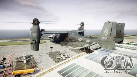 Bell CV-22 Osprey [EPM] para GTA 4 vista interior