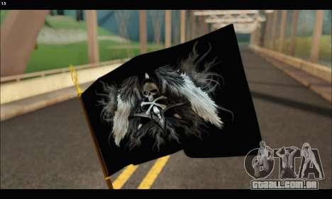 Flag Black Skul para GTA San Andreas