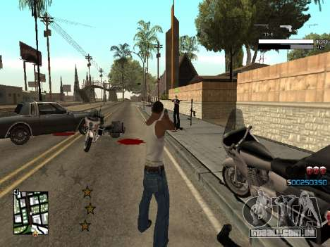 Simple C-HUD para GTA San Andreas