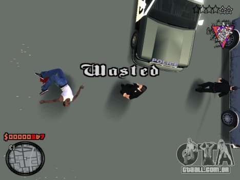 C-HUD Style para GTA San Andreas quinto tela