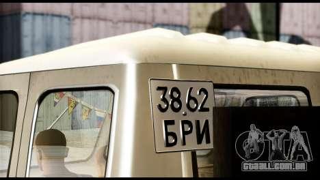 MAZ 504 para GTA San Andreas traseira esquerda vista