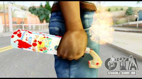 Molotov Cocktail with Blood para GTA San Andreas terceira tela