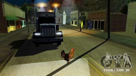 A possibilidade de GTA V para jogar com os anima para GTA San Andreas twelth tela
