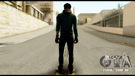 Ajay Ghale from Far Cry 4 para GTA San Andreas segunda tela