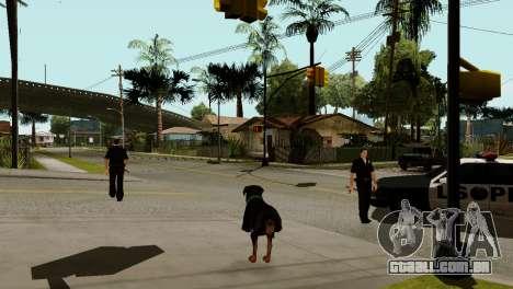 A possibilidade de GTA V para jogar com os anima para GTA San Andreas