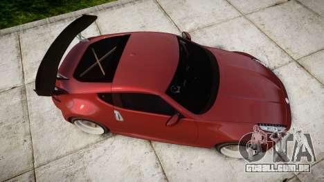 Nissan 370Z Stance para GTA 4 vista direita