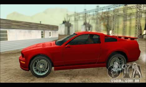 New Buffalo para GTA San Andreas esquerda vista