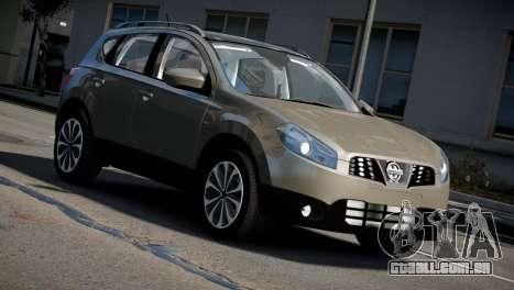 Nissan Qashqai 2011 para GTA 4 vista direita
