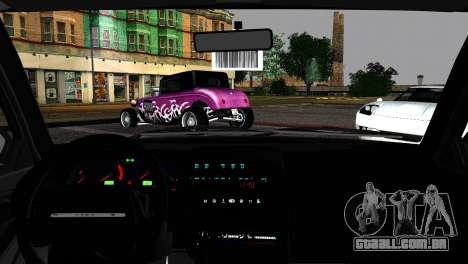 Lada 21099 Rat Look para GTA San Andreas traseira esquerda vista