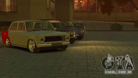 VAZ 2101 para GTA 4 vista de volta