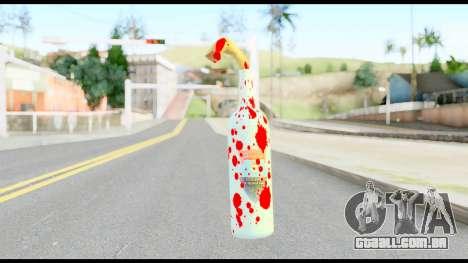 Molotov Cocktail with Blood para GTA San Andreas segunda tela