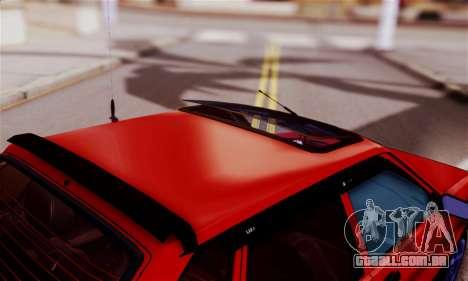 Lada 2109 para GTA San Andreas vista interior