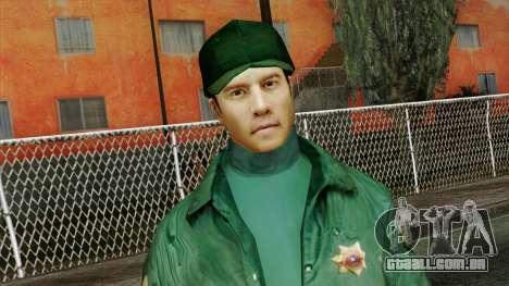 Police Skin 1 para GTA San Andreas terceira tela