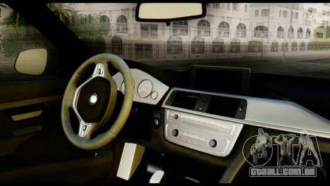 BMW 3 Touring F31 2013 1.0 para GTA San Andreas traseira esquerda vista