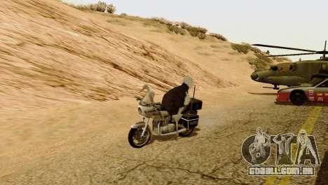 A possibilidade de GTA V para jogar com os anima para GTA San Andreas terceira tela