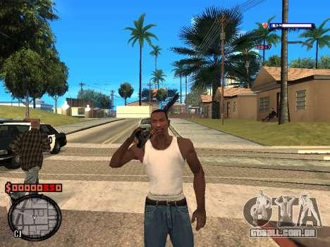 C-HUD Style para GTA San Andreas segunda tela
