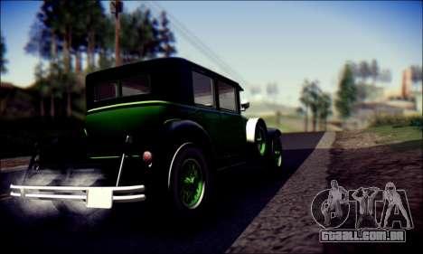 Albany Roosevelt (GTA V) para GTA San Andreas vista traseira