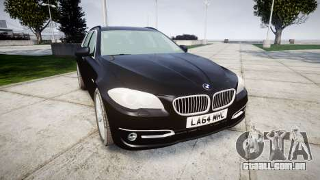 BMW 525d F11 2014 Facelift Civilian para GTA 4