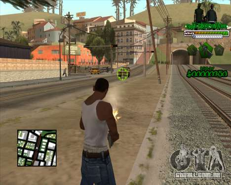 C-HUD for Groove para GTA San Andreas