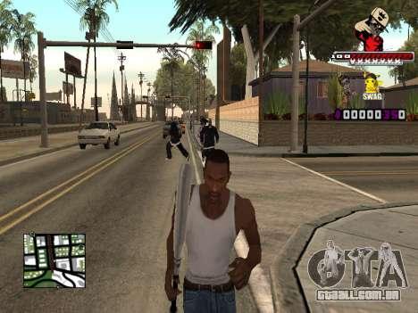 C-HUD SWAG para GTA San Andreas