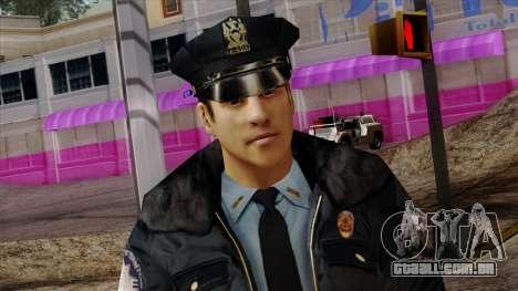Police Skin 6 para GTA San Andreas terceira tela