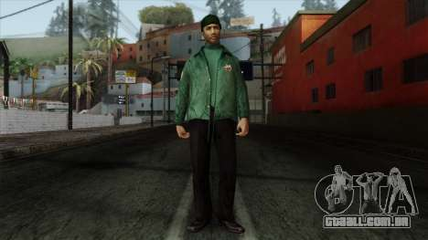 Police Skin 2 para GTA San Andreas