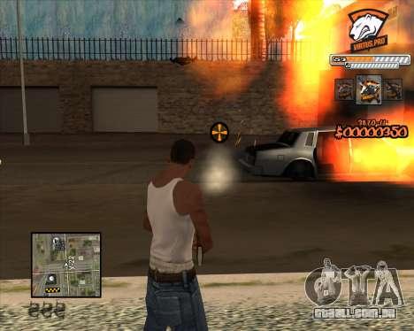 C-HUD Virtus Pro para GTA San Andreas terceira tela
