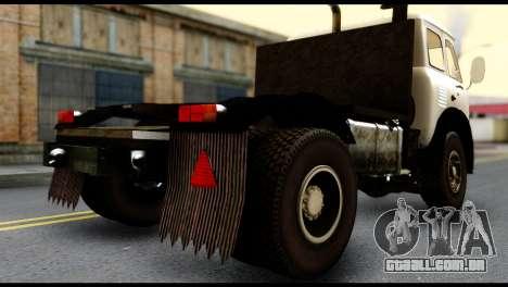 MAZ 504 para GTA San Andreas esquerda vista