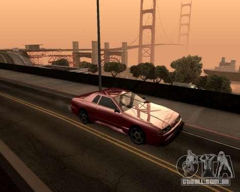 Artificial ENB para baixa de PC para GTA San Andreas terceira tela