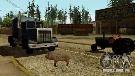 A possibilidade de GTA V para jogar com os anima para GTA San Andreas sexta tela
