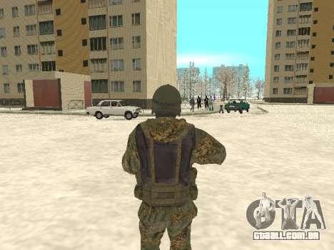 Spetsnaz MVD para GTA San Andreas segunda tela