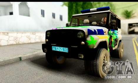 UAZ caçador 315195 para GTA San Andreas
