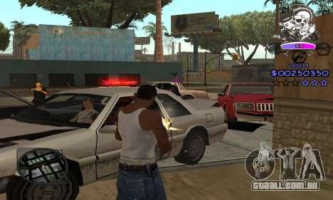 C-HUD Skillet para GTA San Andreas por diante tela