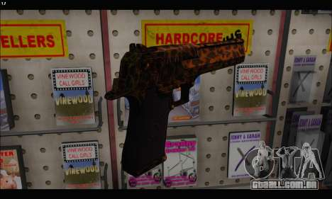 Leopardo Deagle para GTA San Andreas terceira tela
