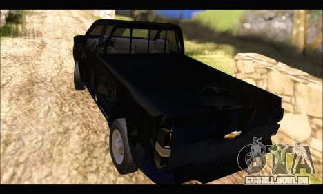 Chevrolet S10 Cabina Simple 2014 para GTA San Andreas esquerda vista