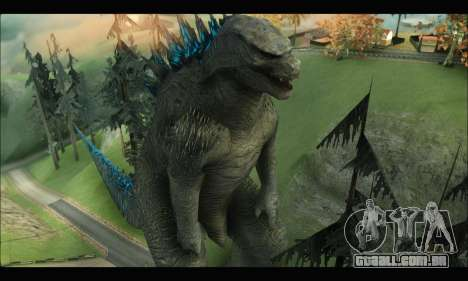 Godzilla 2014 para GTA San Andreas