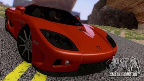Koenigsegg CCX 2006 Road Version para GTA San Andreas