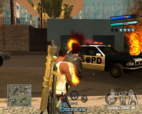 C-HUD Super Cull para GTA San Andreas segunda tela