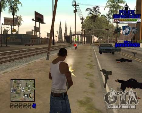 PD HUD para GTA San Andreas terceira tela