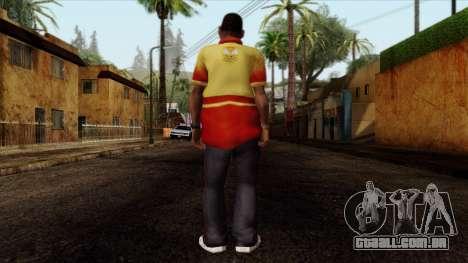 GTA 4 Skin 90 para GTA San Andreas segunda tela
