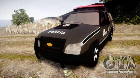 Chevrolet Blazer 2010 Rota Comando [ELS] para GTA 4