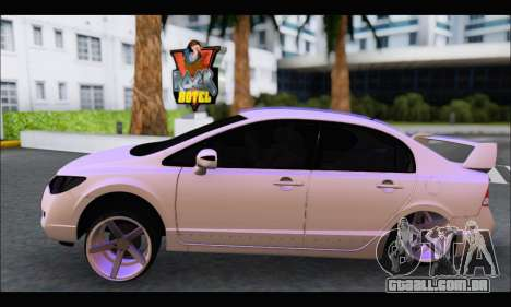 Honda Civic Korea Style para GTA San Andreas esquerda vista